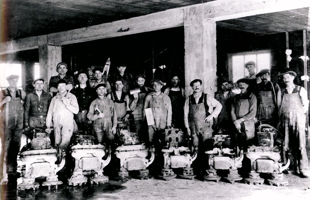Terrazzo Grinders after 1920. Source NTMA